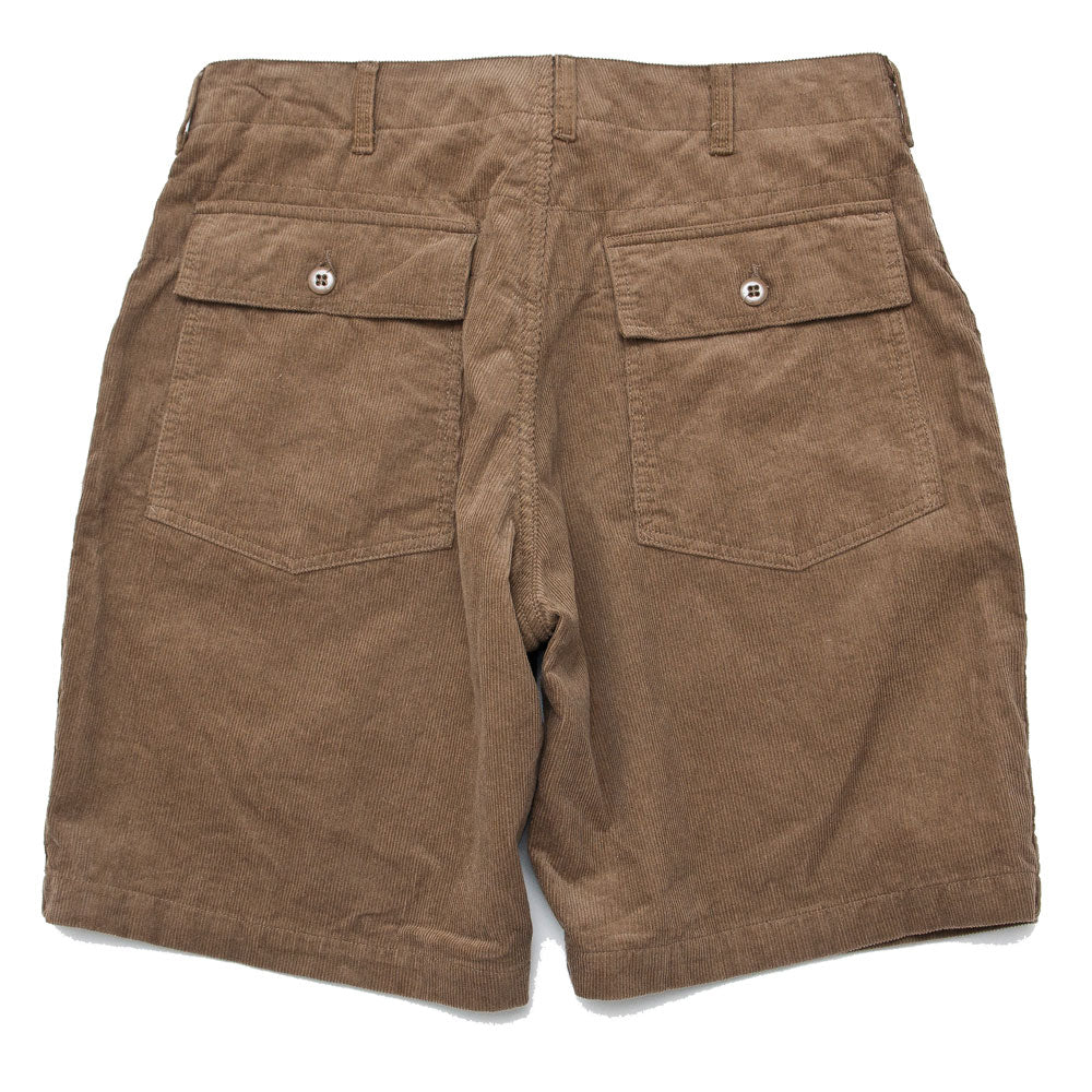 Engineered Garments Fatigue Short Khaki 14W Corduroy shoplostfound back