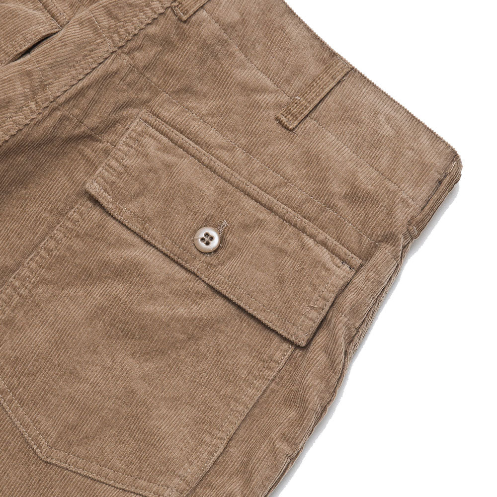 Engineered Garments Fatigue Short Khaki 14W Corduroy shoplostfound detail