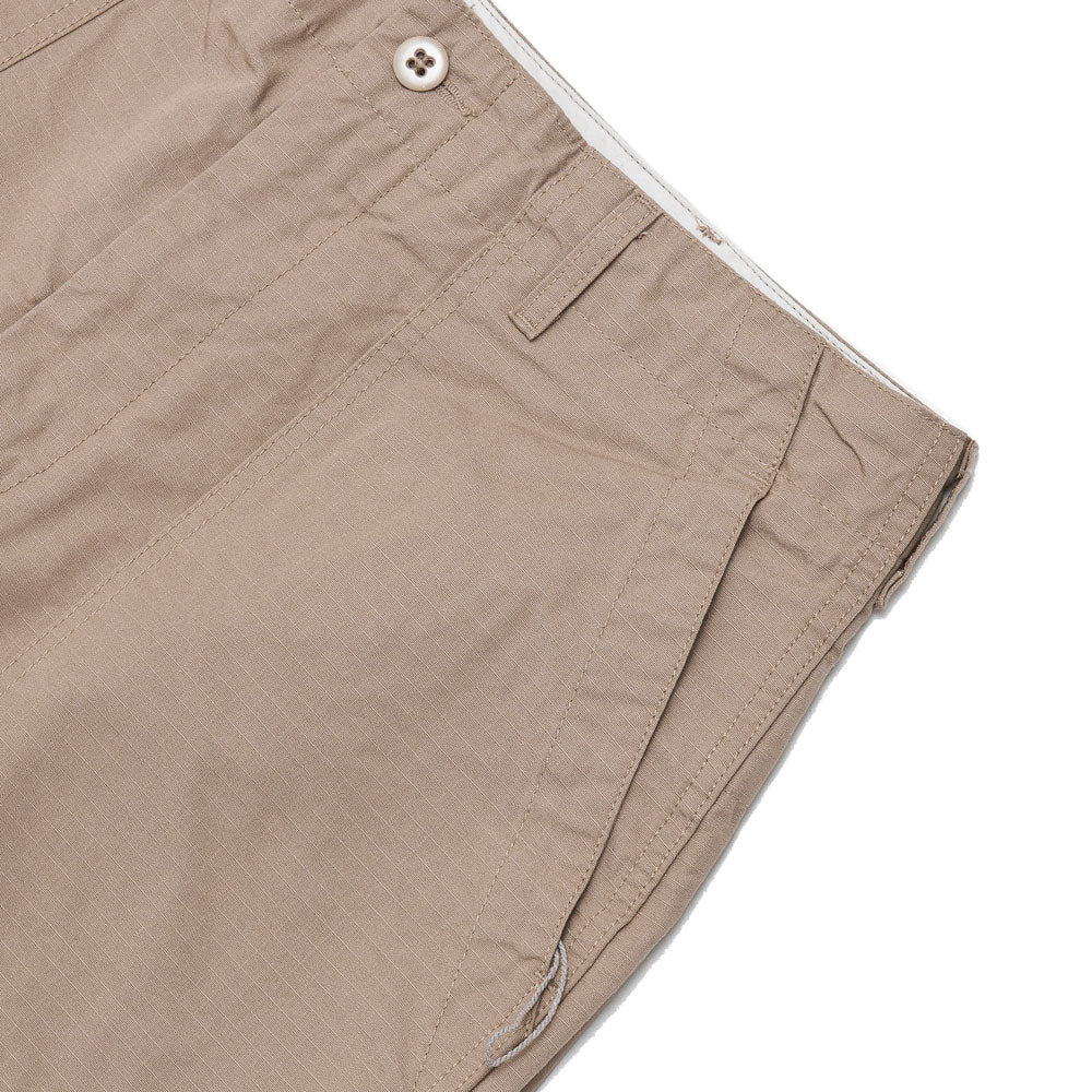 Engineered Garments Fatigue Short Khaki Cotton Ripstop shoplostfound pocket
