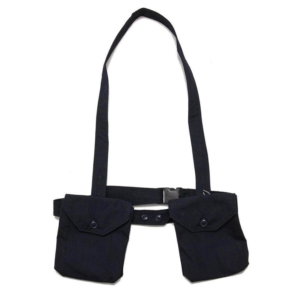 Engineered Garments Waist Bag Dark Navy PC Poplin shoplostfound 1