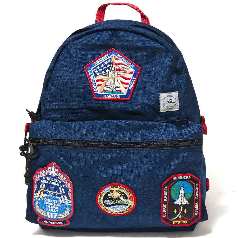 Epperson Mountaineering Navy Day Pack with Vintage Nasa Patch