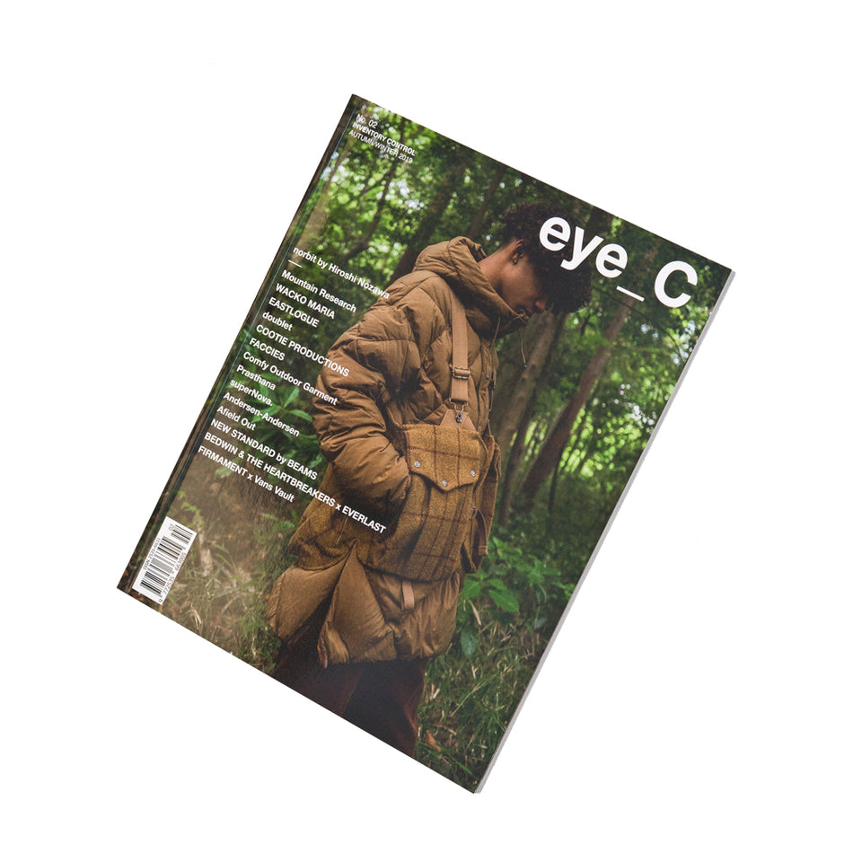 eye_C magazine No. 02 Inventory Control Autumn/Winter 2019