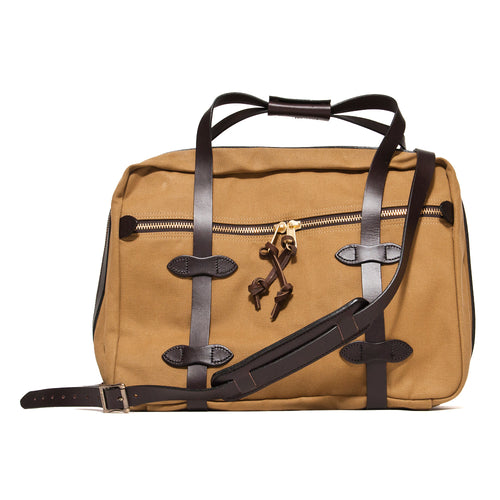 Filson Small Pullman Duffle Tan at shoplostfound, front