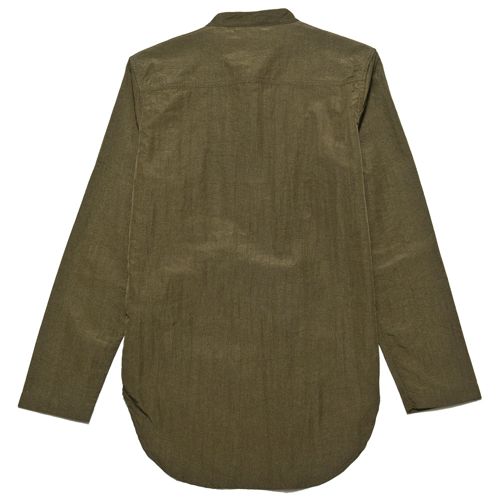 Garbstore Co-Op Pullover Shirt Olive at shoplostfound, back