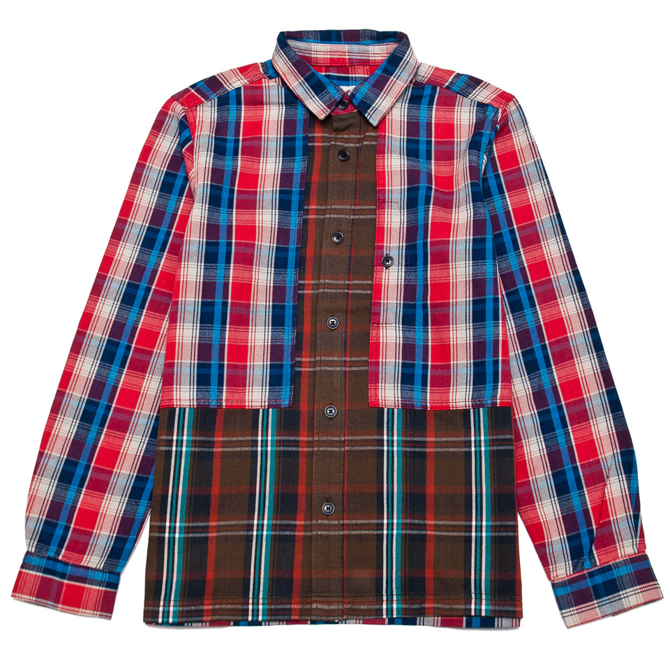 Garbstore Log Shirt Red at shoplostfound, front