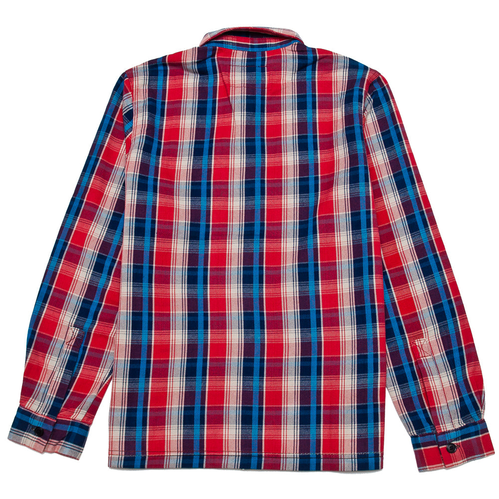 Garbstore Log Shirt Red at shoplostfound, back