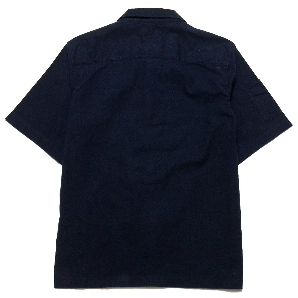 Garbstore NCB Slacker Shirt Navy at shoplostfound, back