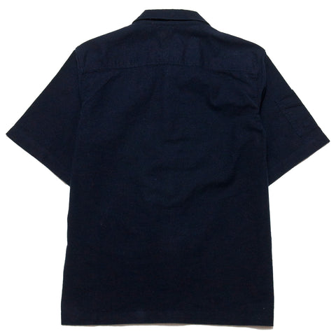 Garbstore NCB Slacker Shirt Navy at shoplostfound, front