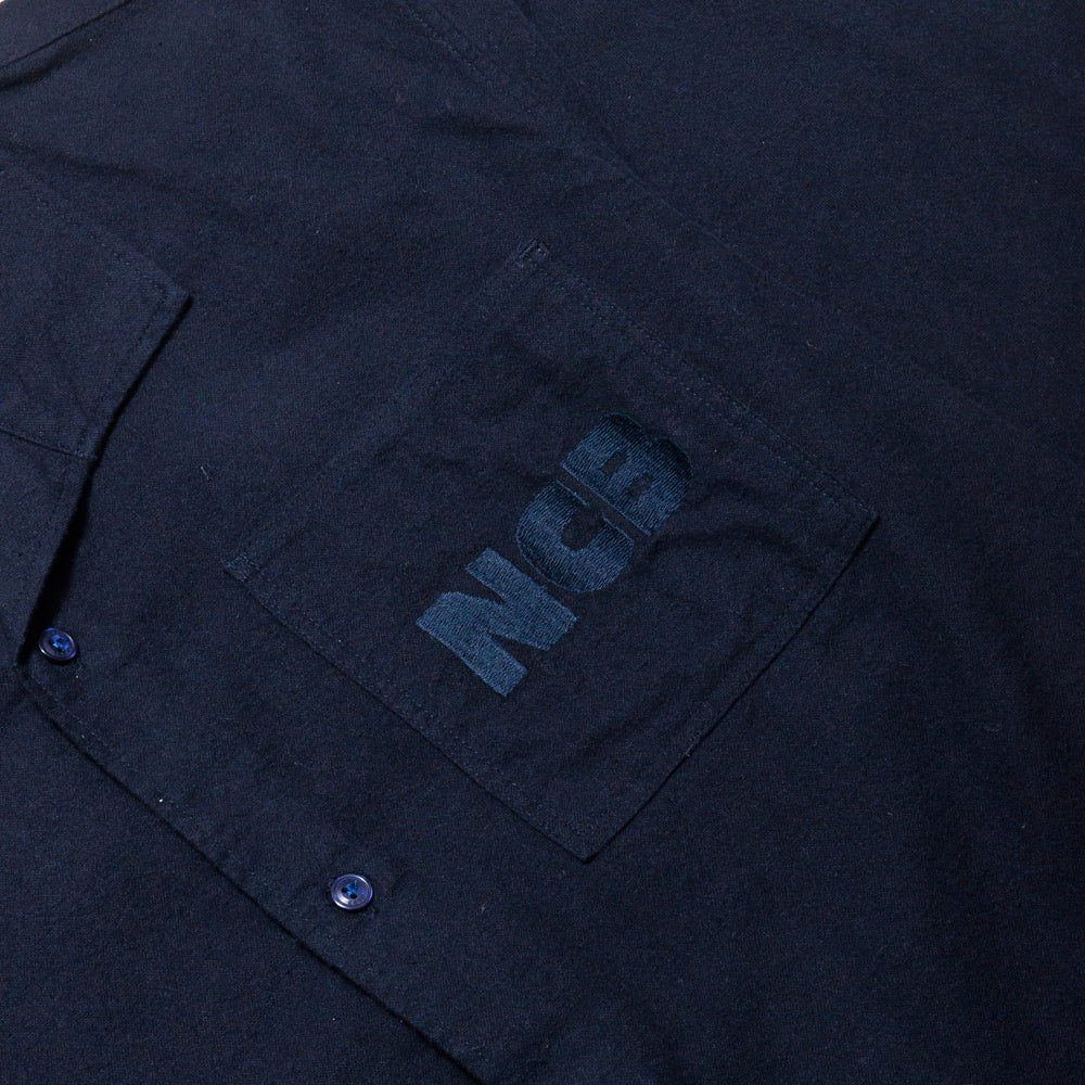 Garbstore NCB Slacker Shirt Navy at shoplostfound, ncb