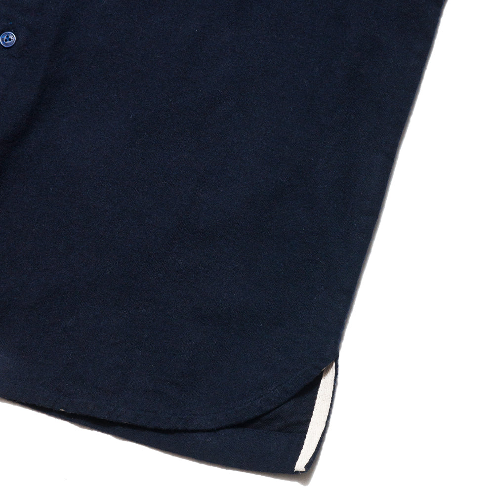 Garbstore NCB Slacker Shirt Navy at shoplostfound, detail