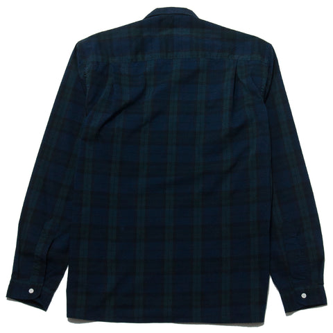 Gitman Vintage Bros. Blackwatch Ripstop Camp Shirt at shoplostfound, front