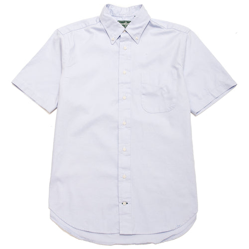 Gitman Vintage Bros. Lavender Overdye Oxford SS Shirt at shoplostfound, front