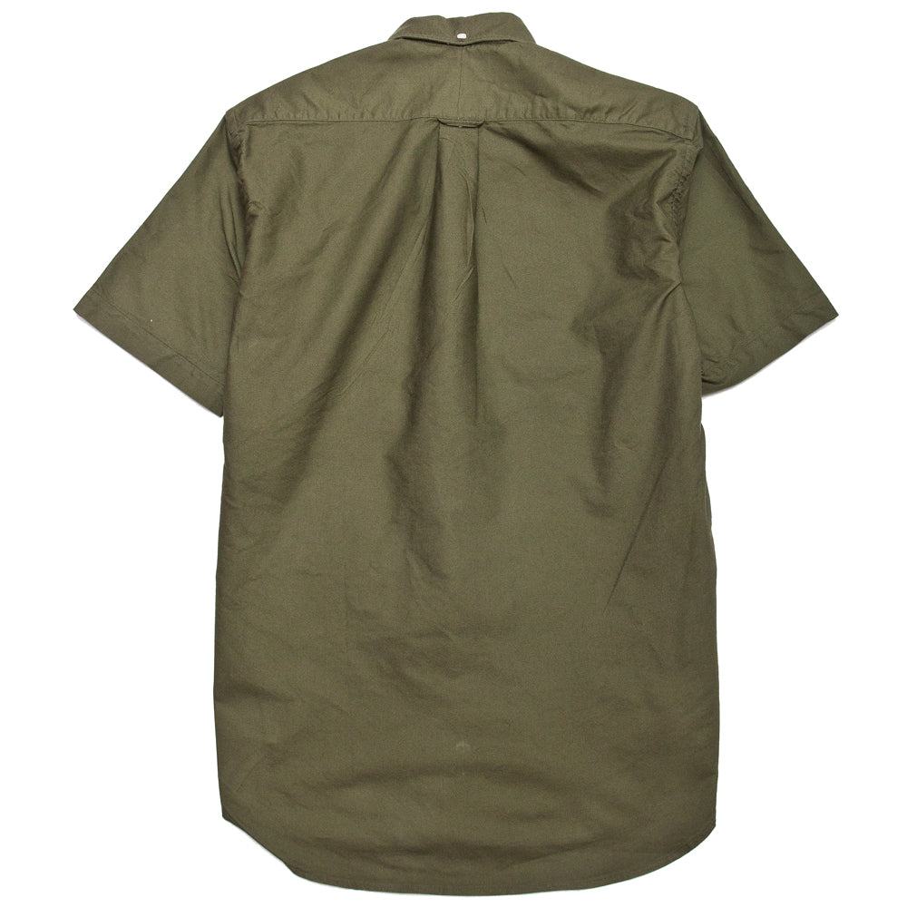 Gitman Vintage Bros. Olive Overdye Oxford SS Shirt at shoplostfound, back