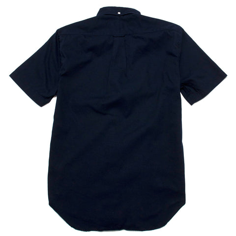 Gitman Vintage Bros. Short Sleeve Navy Overdye Oxford shoplostfound 1
