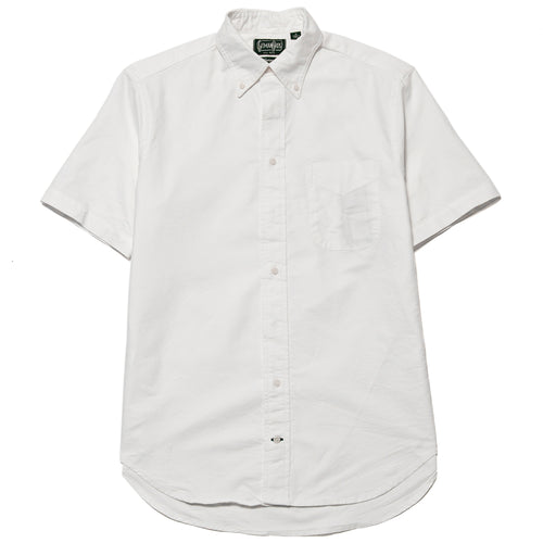Gitman Vintage Bros. Short Sleeve White Overdye Oxford shoplostfound 1
