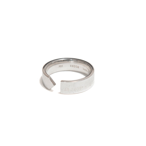 HNDSM Paris Ring Polished Sterling Silver at shoplostfound, 1