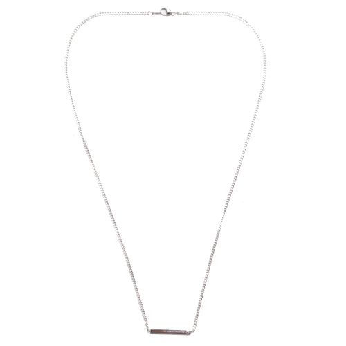 HNDSM Tokyo Necklace Polished Sterling Silver at shoplostfound 1