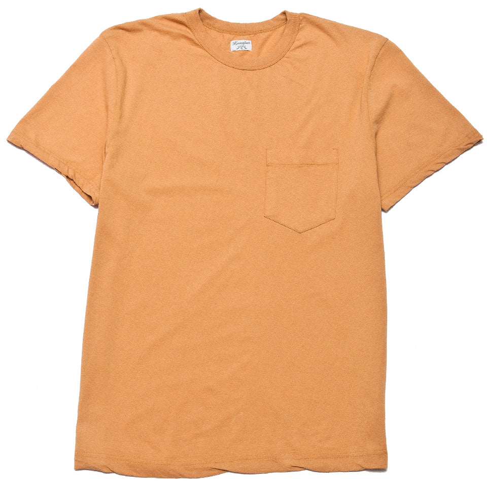 Homespun Dad's Pocket Tee Straw at shoplostfound, front