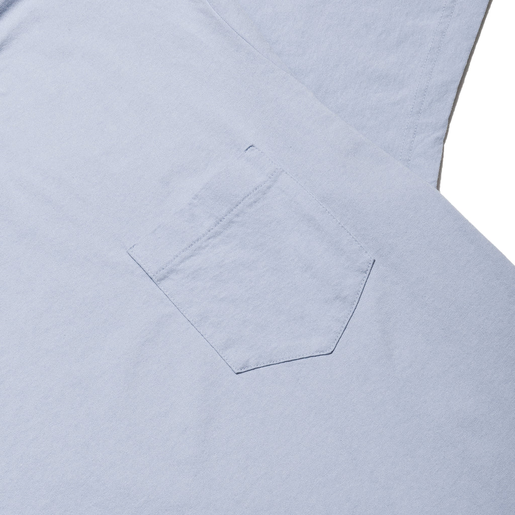 Homespun Dad's Pocket Tee Washed Blue at shoplostfound, pocket