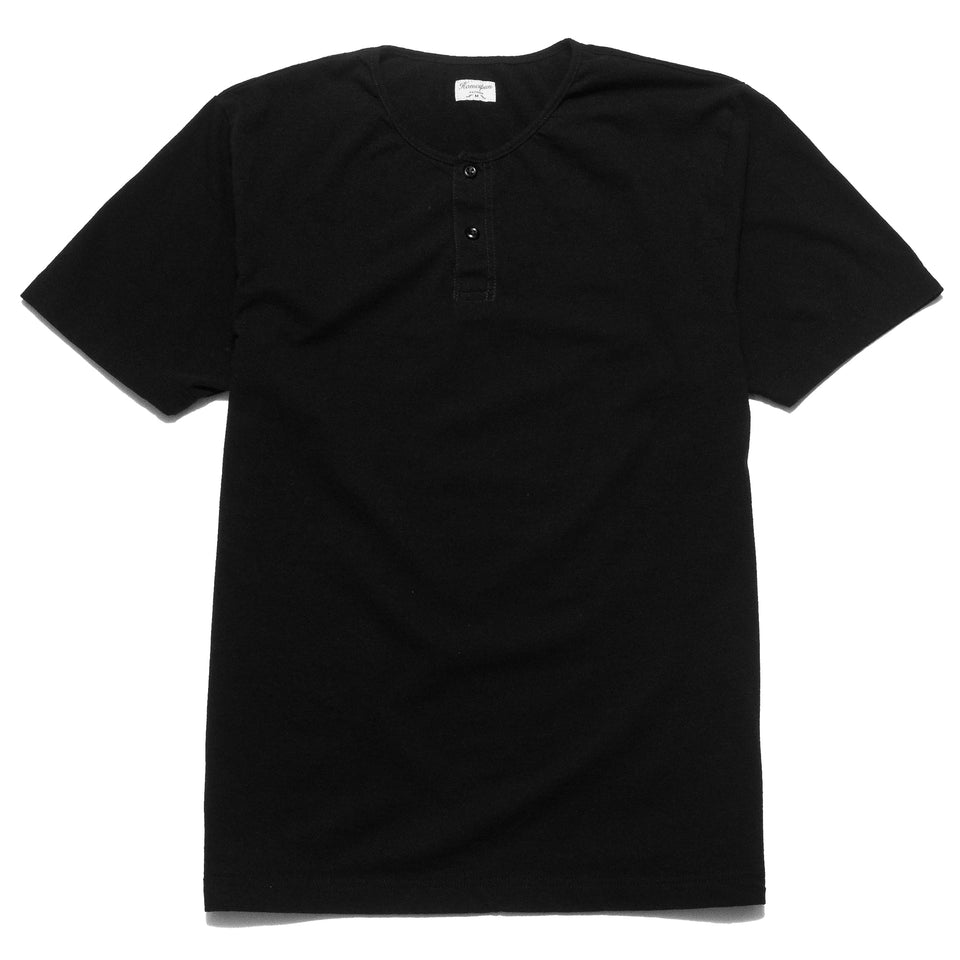 Homespun Great Plains Short Sleeve Black at shoplostfound, front