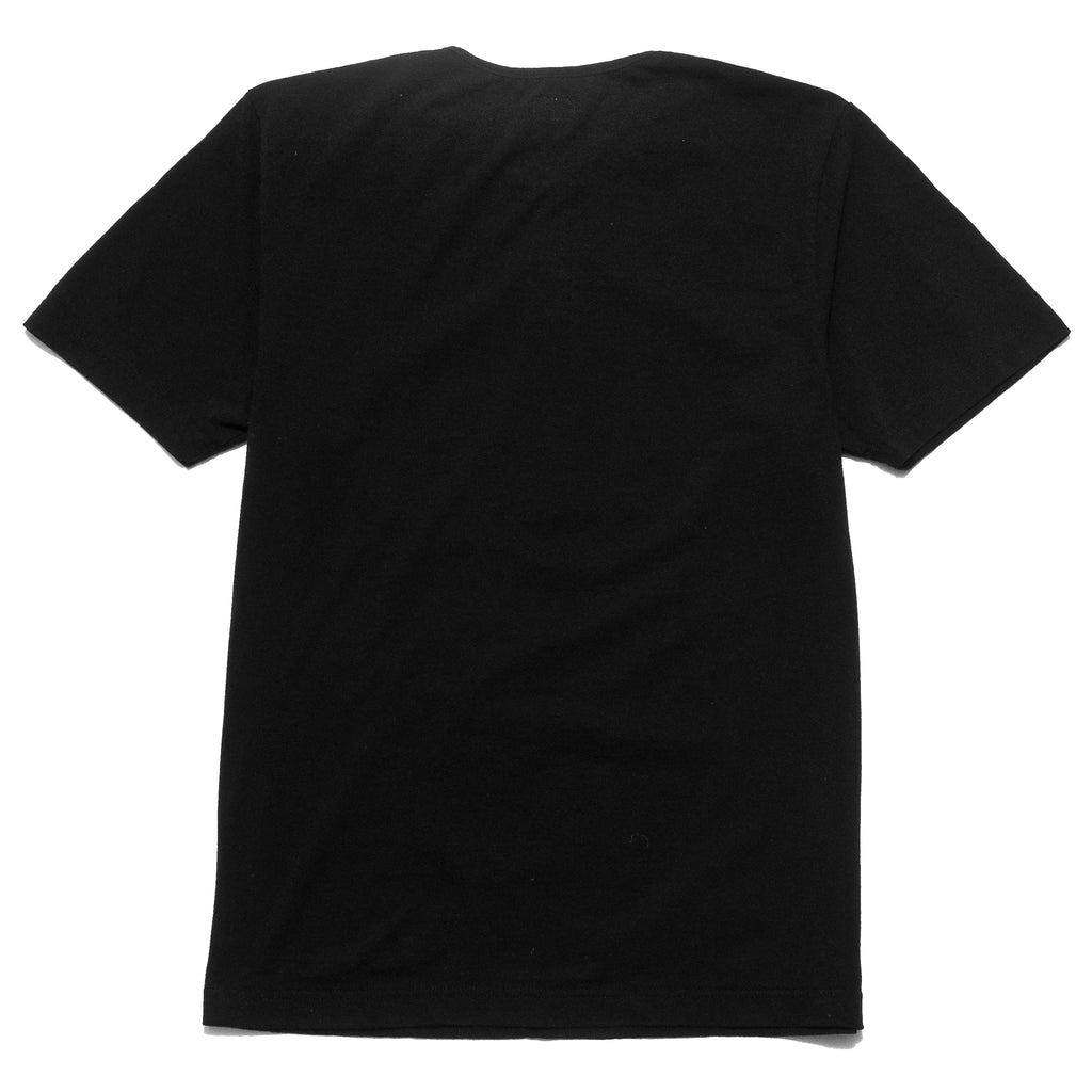 Homespun Great Plains Short Sleeve Black at shoplostfound, back