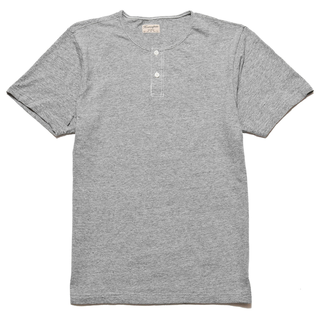 Homespun Great Plains Short Sleeve Granite at shoplostfound, front