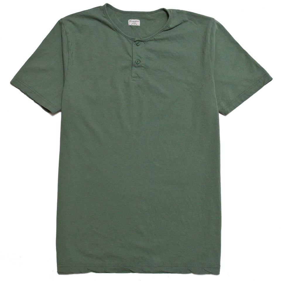 Homespun Great Plains Short Sleeve Pine at shoplostfound, front