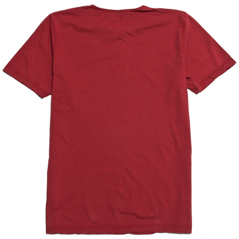 Homespun Great Plains Short Sleeve Red at shoplostfound, front