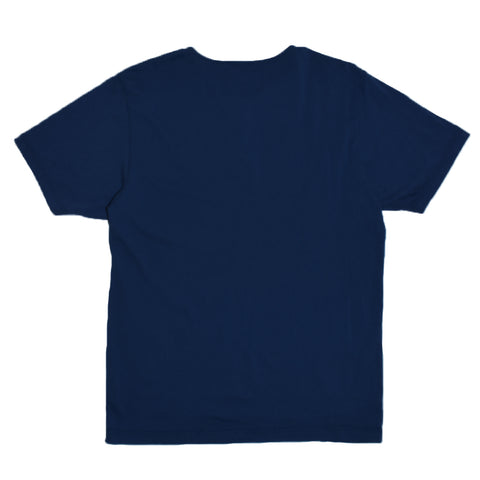 Homespun Great Plains Tee Tennessee Jersey Indigo Fade Front