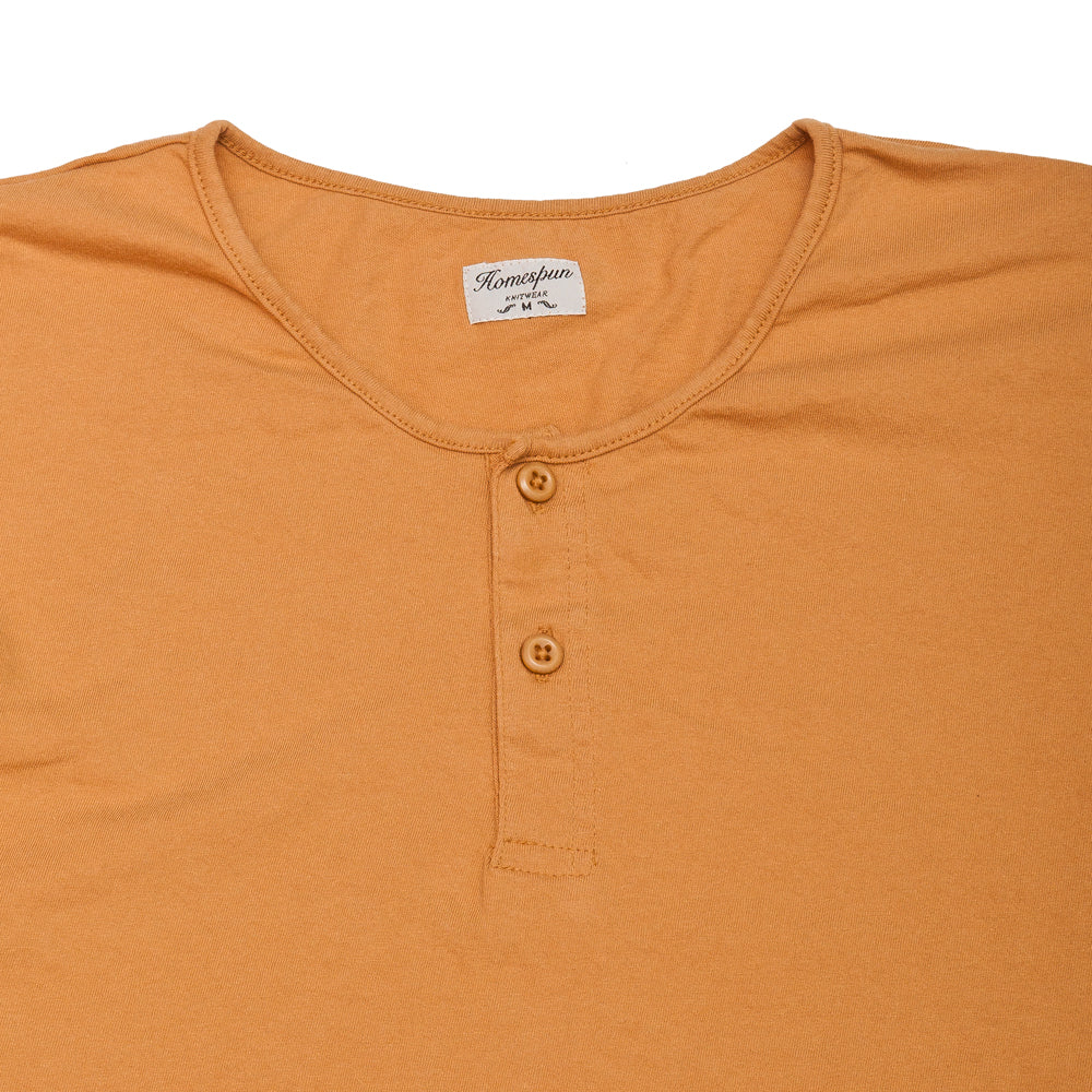 Homespun Great Plains Tee Tennessee Jersey Straw at shoplostfound, neck