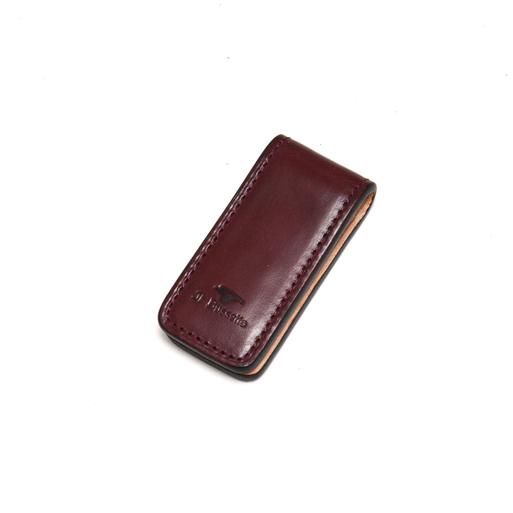 Il Bussetto Money Clip Bordo at shoplostfound, front