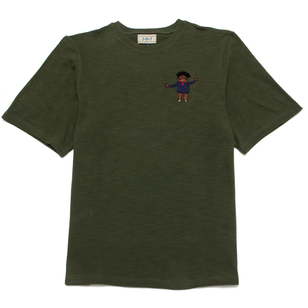 Jupe By Jackie Jalam T-Shirt Green at shoplostfound, front