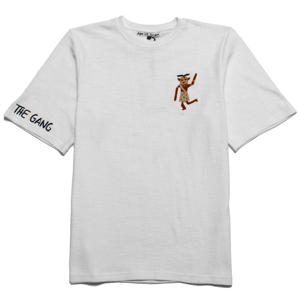 Jupe By Jackie Off White Bam T-Shirt at shoplostfound, front