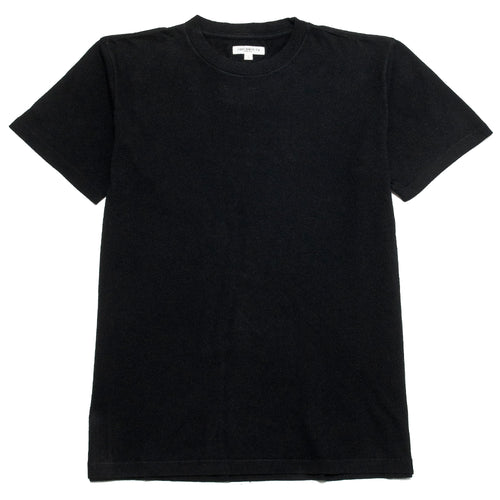 Lady White Co. Lite Jersey T-Shirt Black at shoplostfound, front