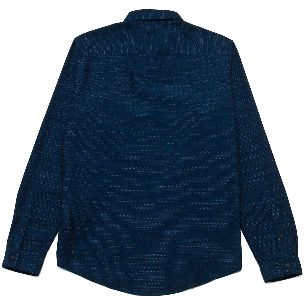 Levi's Made & Crafted Standard Floating Yarn Dobby Shirt at shoplostfound, back