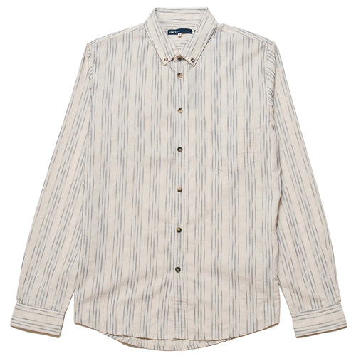 Levi's Made & Crafted Standard Shirt Ikat White/Blue at shoplostfound, front