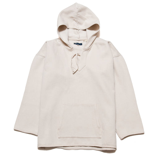 Levi's Made & Crafted Woven Hoodie Pristine at shoplostfound, front