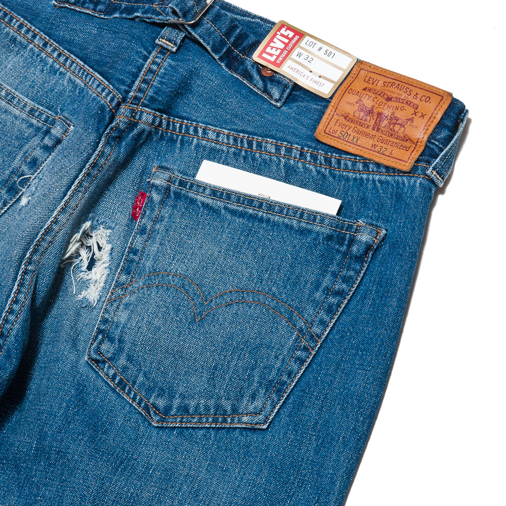 Levi's Vintage Clothing 1937 501® Jeans Velzy at shoplostfound, detail