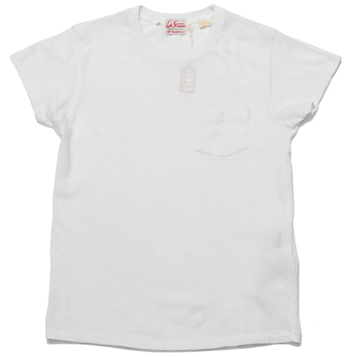 Levi's Vintage Clothing 1950's Sportswear Tee White at shoplostfound, front