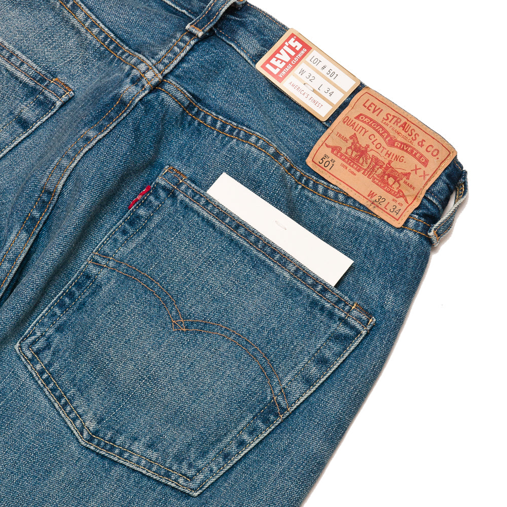 Levi's Vintage Clothing 1966 501 Jeans Ramblin' Man at shoplostfound, detail