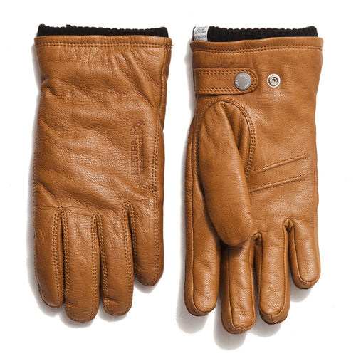 Norse Projects Hestra Utsjo Tobacco Gloves at shoplostfound in Toronto, front and back