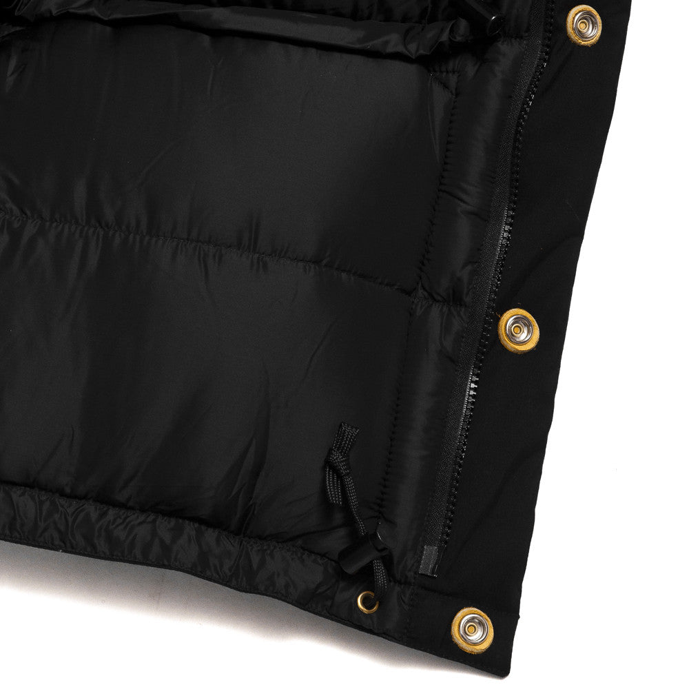 Crescent Down Works 60/40 Classico Parka Black/Black at shoplostfound, detail