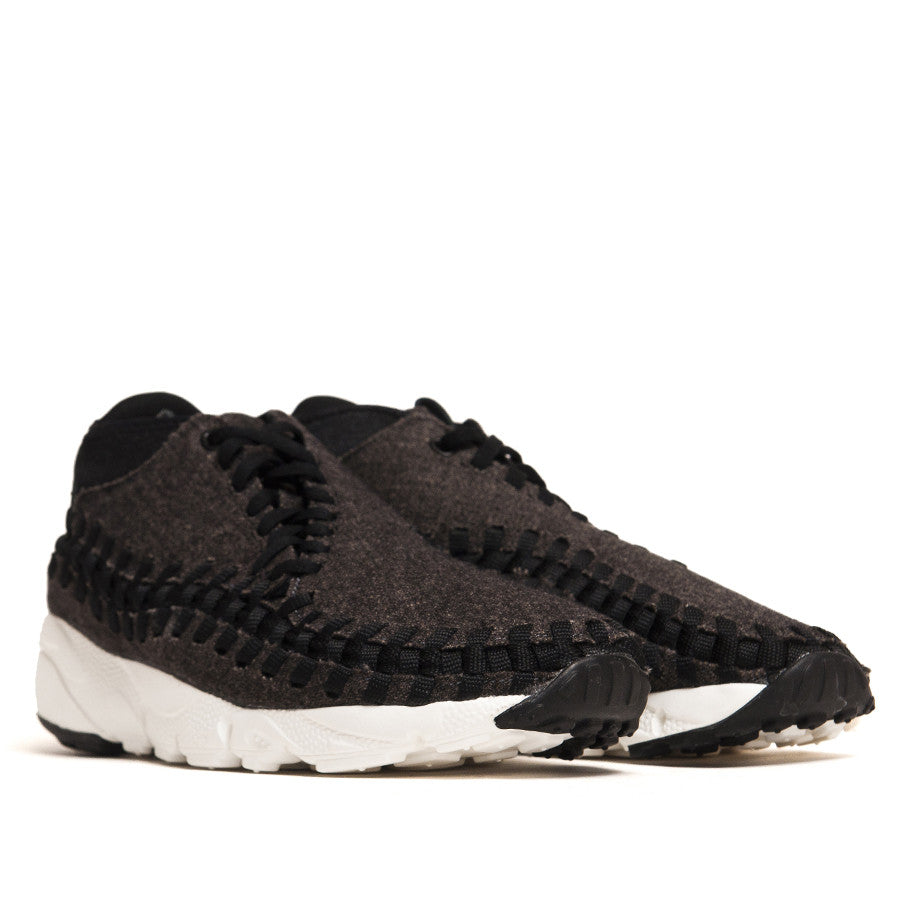 Nike Air Footscape Woven Chukka SE Blk/Blk 857874-001 at shoplostfound in Toronto, product shot