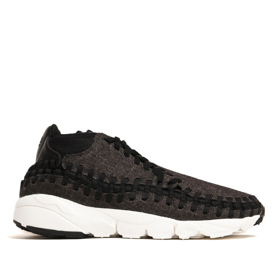 Nike Air Footscape Woven Chukka SE Blk/Blk 857874-001 at shoplostfound in Toronto, profile