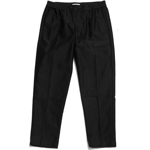 S.K. Manor Hill Tuck Pant Cotton Black