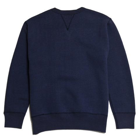 The Real McCoy's Air Force Academy Sweatshirt Navy MC16105 at shoplostfound in Toronto, front
