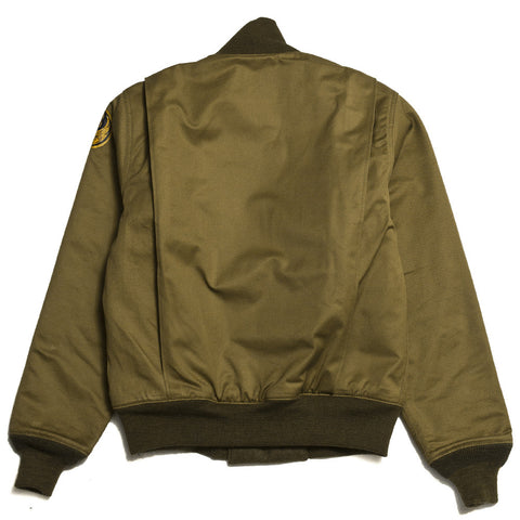 The Real McCoy's Tankers 31st Bomb Sq. Bomber Khaki MJ16105 at shoplostfound in Toronto, front