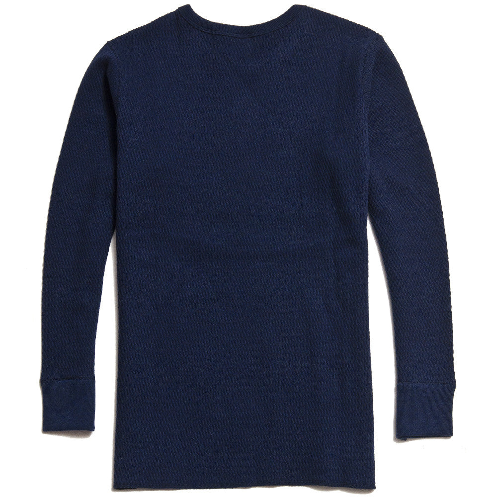 The Real McCoy's MC16109 Military Thermal Long Sleeve T-Shirt/UNSA 32 Navy at shoplostfound in Toronto, back