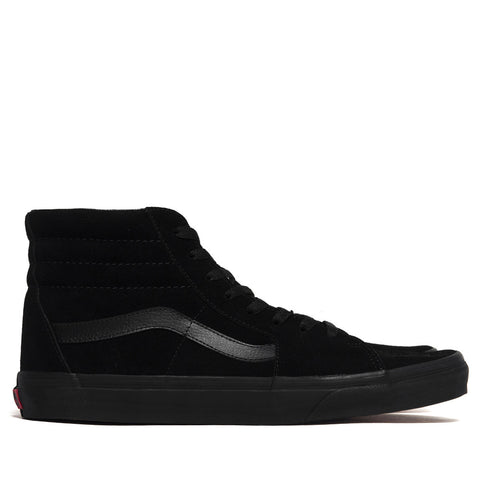Vans Sk8-Hi Black/Black Suede at shoplostfound in Toronto, product shot