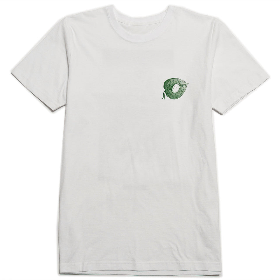 Lost & Found Artist Series 003: Robin Nishio Tee Green at shoplostfound 1